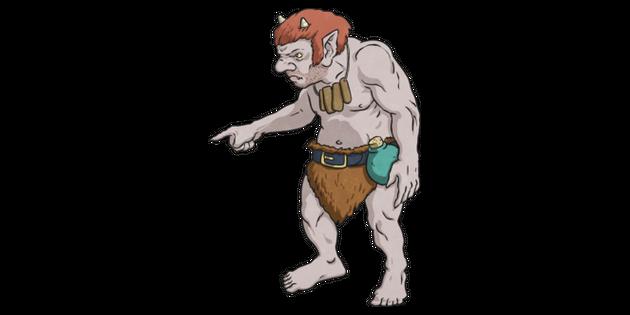 Troll 1 Illustration Twinkl