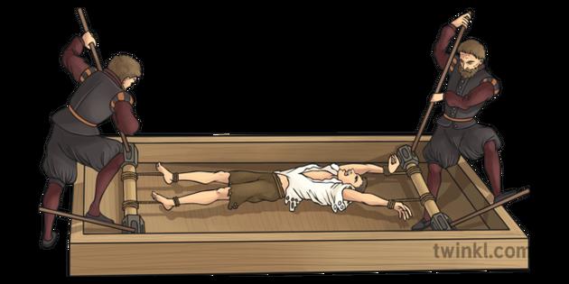 6ffcb52bf Tudor Torture Rack Illustration - Twinkl