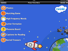 Twinkl Phonics Suite App Phase 3