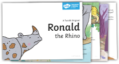 Download the Ronald the Rhino Book