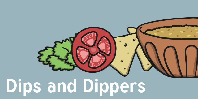 Cooking Lessons for Kids   Dips and Dippers   D&T Resources