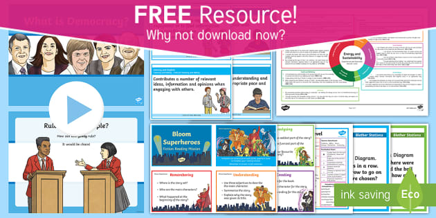 * NEW * CfE Free Taster Resources Second Level Resource Pack