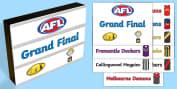 EYLF AFL Grand Final Resources