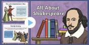 William Shakespeare Primary Resources, Significant Individuals