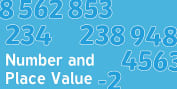 Read, write, order and compare numbers up to 10 000 000 and determine the value of each digit