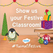 Twinkl Scotland wants to see your Christmas Classrooms