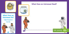 What Do Astronauts Do? Resource Pack