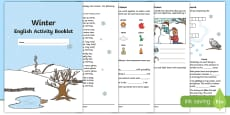 * NEW * Year 2 Winter English Activity Booklet English