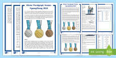 * NEW * UKS2 Winter Paralympics Differentiated Fact File