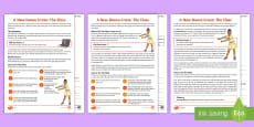 * NEW * KS2 A New Dance Craze: The Floss Differentiated Reading Comprehension Activity