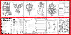 KS2 Christmas Activity Booklet