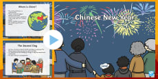 * NEW * All About Chinese New Year PowerPoint