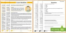 * NEW * LKS2 Ernest Shackleton Differentiated Reading Comprehension Activity