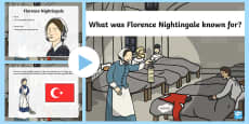 What was Florence Nightingale Known For? PowerPoint