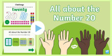 * NEW * All About Number 20 PowerPoint