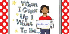 When I Grow Up I Want to Be... Display Pack