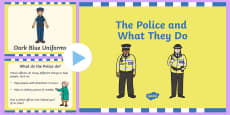 The Police and What They Do PowerPoint