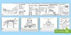 Nursery Rhyme Colouring Sheets Pack