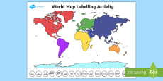 World map labelling activity world map labelling activity australia world map labelling activity gumiabroncs Image collections