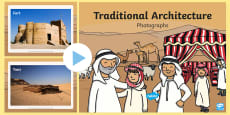 * NEW * UAE Traditional Architecture Display Photos