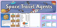 Space Travel Agents Role Play Pack