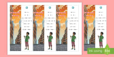 * NEW * SATs Survival: Year 6 Arithmetic Practice Maths Bookmarks Pack 4