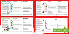KS1 60-Second Reads: Christmas Activity Cards