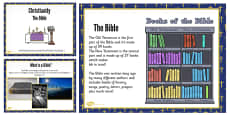 KS1 Christianity and the Bible Teaching and Task Setting PowerPoint