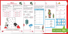 KS1 The Mystery of the Missing Reindeer Bells Maths Game