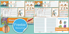 Free EYFS/KS1 Twinkl Handwriting Taster Resource Pack