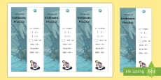 * NEW * SATs Survival: Year 6 Arithmetic Practice Maths Bookmarks Pack 2