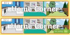 Home Corner Display Banner