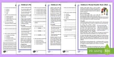 * NEW * LKS2 Children's Mental Health Week Differentiated Reading Comprehension Activity