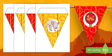 * NEW * Chinese New Year Display Bunting
