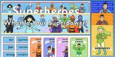 Superhero Role Play Pack