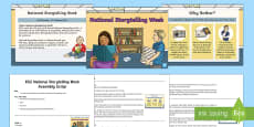 KS2 National Storytelling Week Assembly Pack
