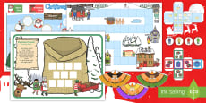 * NEW * KS1 Christmas Maths Games Activity Pack