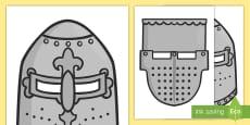 * NEW * Rittermasken für Rollenspiele