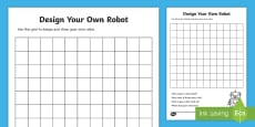 Design Your Own Robot Template