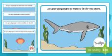 Under the Sea Playdough Mats