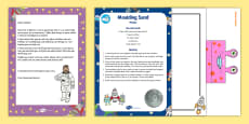 Editable Astronaut Letter and Resource Pack