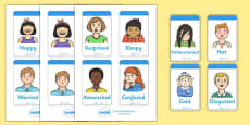 Ourselves Emotion Word Cards