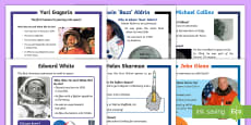 KS1 Space Differentiated Reading Comprehension Activity Pack
