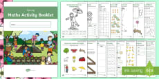 * NEW * Year 2 Spring-Themed Maths Activity Booklet