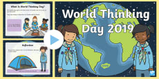 * NEW * KS1 World Thinking Day Information PowerPoint