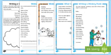 KS1 Winter Poetry Resource Pack