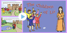 The Children Of Lir PowerPoint Story