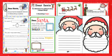 Letter to Santa Resource Pack