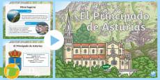 * NEW * Presentación: El principado de Asturias