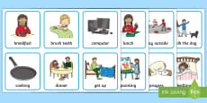 Visual Timetable for Home